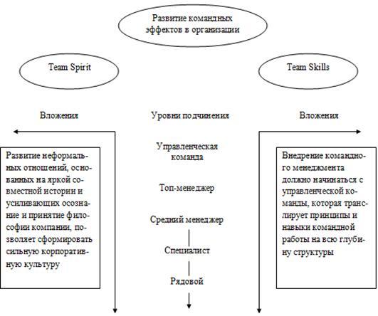 Модели организации командной работы работа для девушки без высшего образования