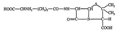 Строение цефалоспорина N