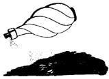 Обработка пятен, похожих на кровь, в темноте с помощью аэрозольных распылителей наполненных люминолом
