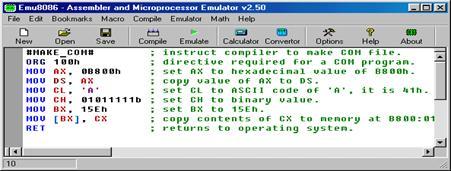 Скачать программу emu8086 бесплатно программа чтоб скачать песни