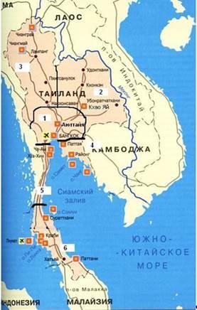Районы тайланда с секс индустрией