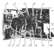 Вид прибора Диск-250И с открытым шасси