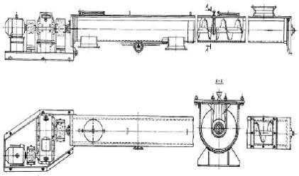 Виды винтового конвейера сварочный конвейер