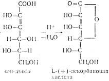 Химические свойства витамина с