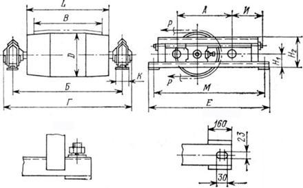 Диаметры натяжных барабанов конвейеров купить мебельный транспортер для перемещения мебели и тяжелых