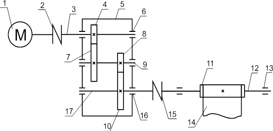 Кинематическая схема ременной передачи ленточного транспортера элеватор октябрьск самарская область