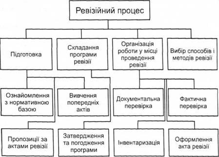 Схема ревизионного процесса