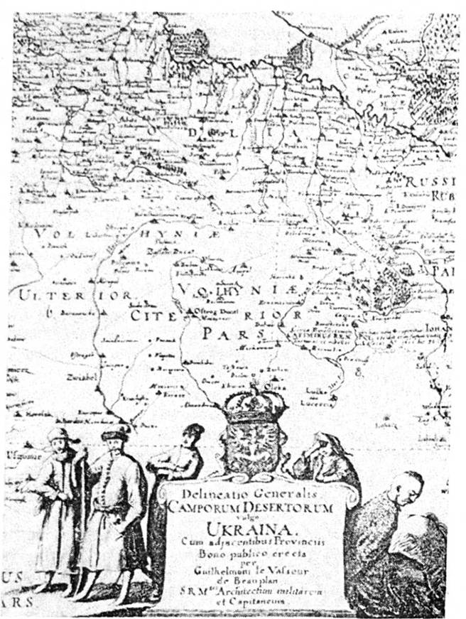 Карта Украины где Боллани