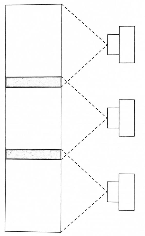 Схема 4. в Линейная панорама.