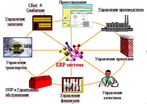 the nature of erp systems