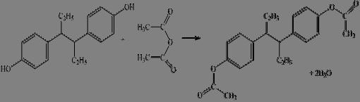 Физические свойства используемые для установления  Параллельно выполняют контрольный опыт с тем же количеством уксусного ангидрида