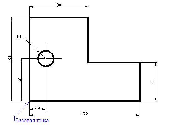 Как сделать простой чертеж
