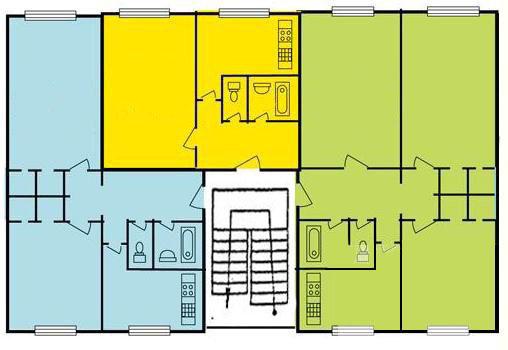 Введение Постановка задачи дипломного проектирования Техническое  Рис 1 3 План второго этажа дома №12 серверная