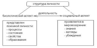 Структура личности по рубинштейну
