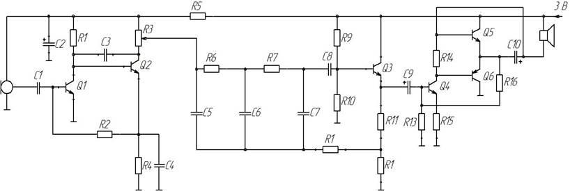 Характеристики и параметры транзистора схемы с общим эмиттером