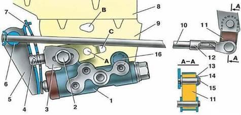Схема регулятора давления на ваз 2110 34