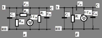 Полевые транзисторы схемы замещения