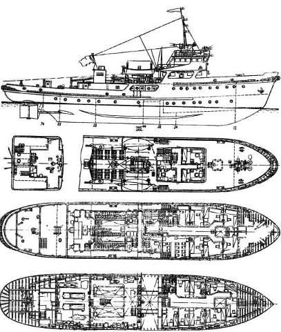 Выбор и обоснование задач дипломного проекта Анализ роли судов  Головное судно Байкал построено на судоверфи имени Ярославского в 1967 году Краткая характеристика судна проекта Р18А приведена в табл 1 1 и 1 2