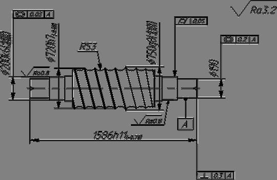 Технологический маршрут обработки валка шаропрокатного стана  Рисунок 24 Контрольная операция