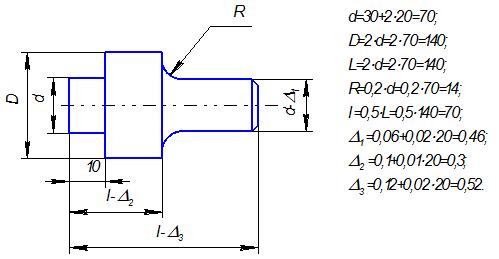 Программу для токарной обработки чпу