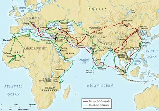 a report on the travels through asia of marco polo On a 24-year journey through the persian gulf and asia travels, and the legacy of marco polo to polo marco polo would report getting sick as.
